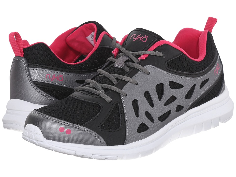 Ryka - Stanza SMR (Black/Pink) Women's Shoes