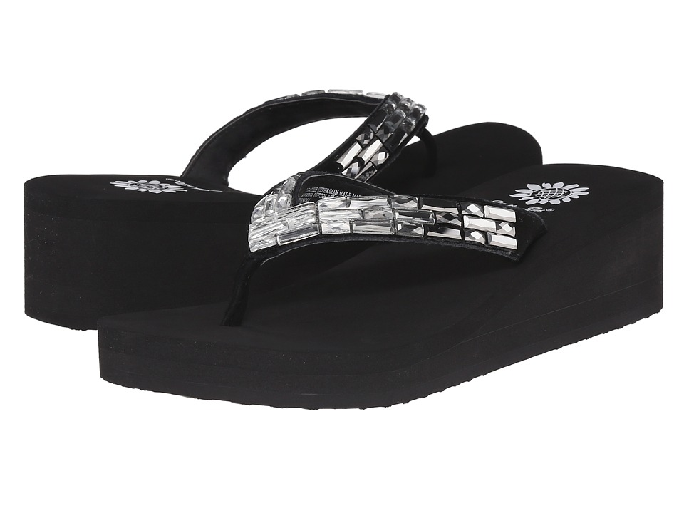 Yellow Box - Honora (Black) Women's Sandals