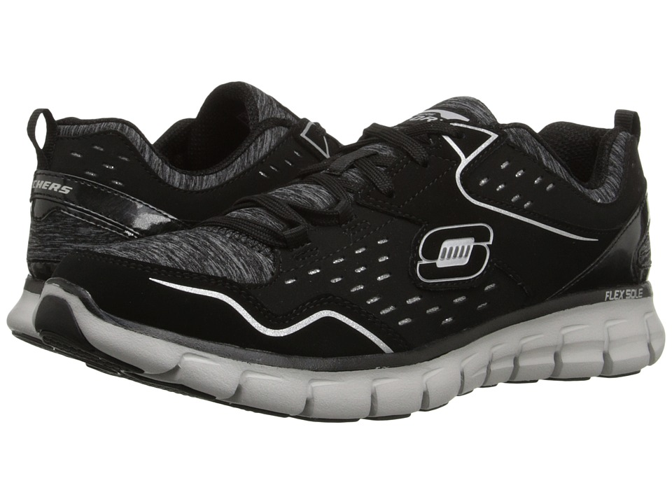 SKECHERS - Synergy - Modern Movement (Black) Women's Running Shoes