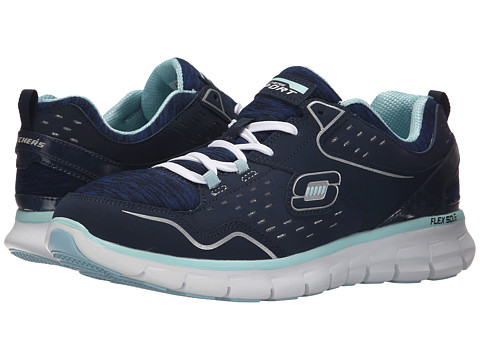 SKECHERS - Synergy - Modern Movement (Navy/Blue) Women's Running Shoes