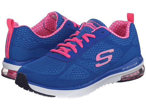 SKECHERS - Skech-Air Infinity (Black/Hot Pink 1) Women's Lace up casual Shoes