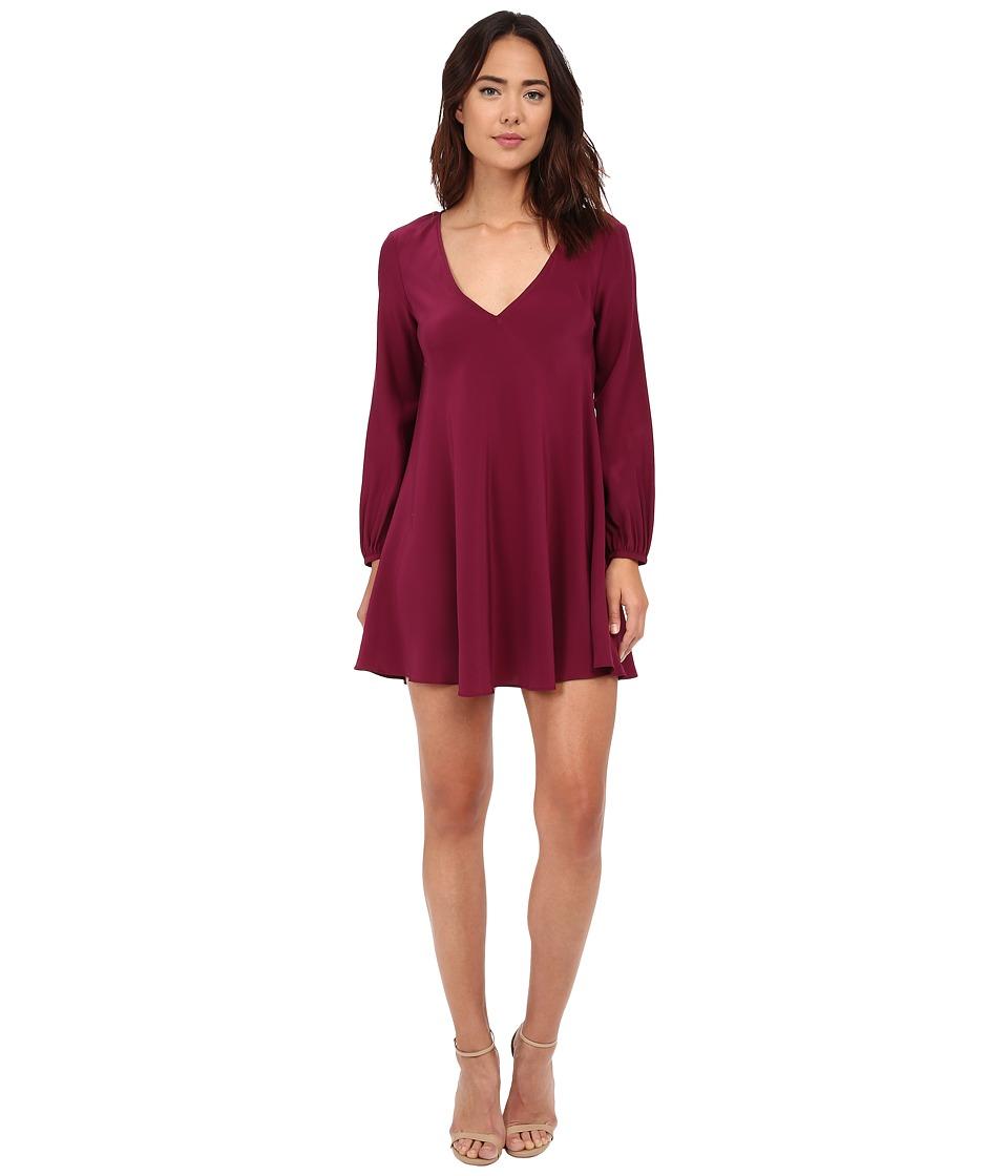 Amanda Uprichard - Juliana Dress (Mulberry) Women's Dress