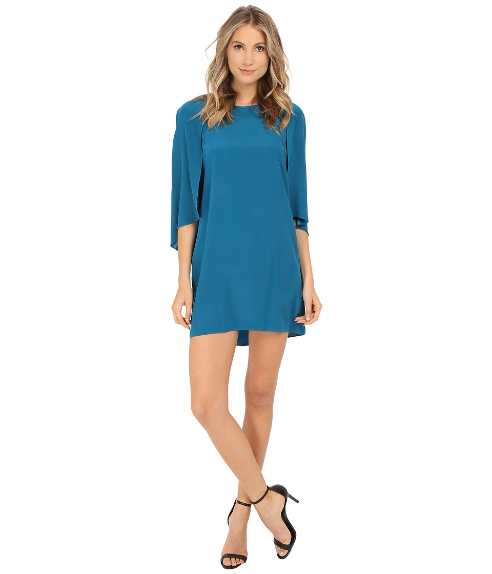 Amanda Uprichard Amelia Dress (Deep Teal) Women