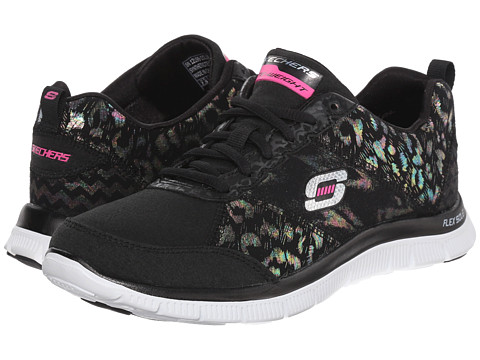 SKECHERS - Flex Appeal - Hollywood Hills (Black) Women