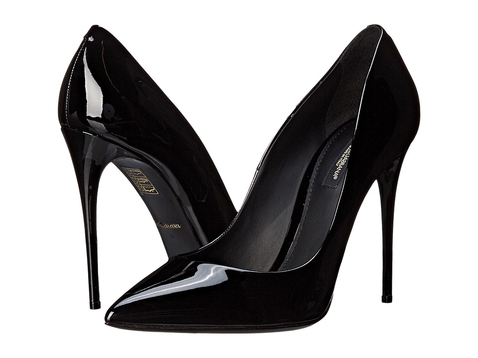 Dolce & Gabbana - Vernice Pump (Nero) Women's Shoes