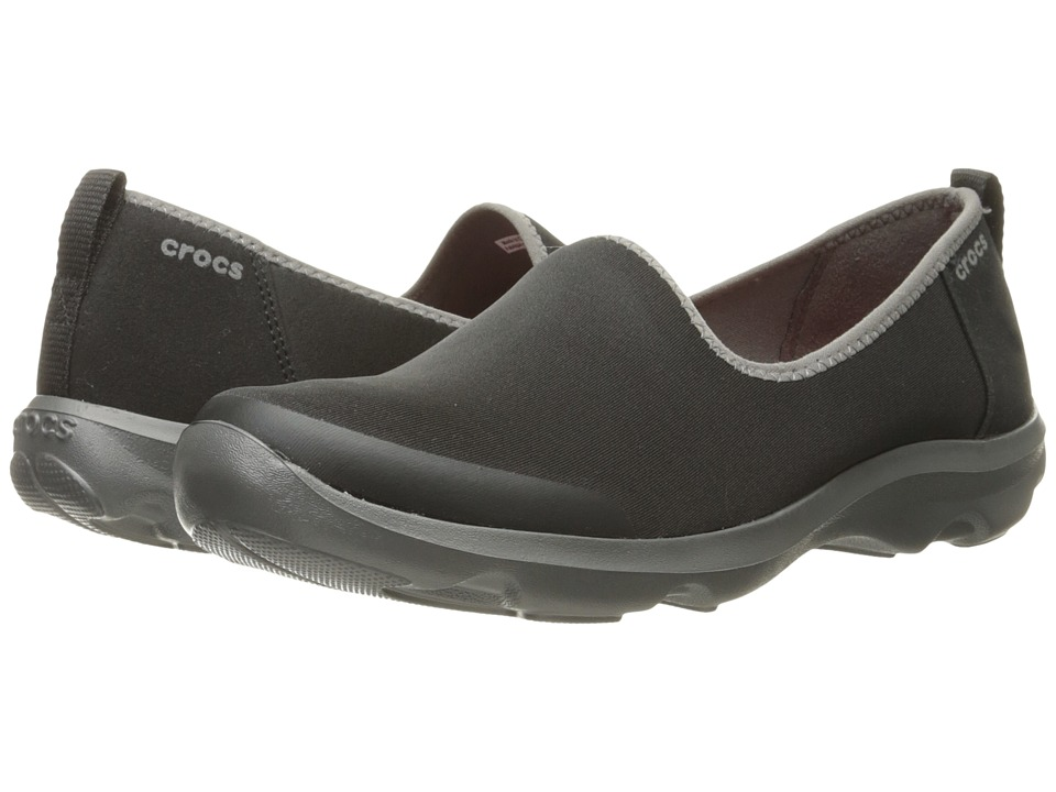 Crocs Busy Day Stretch Skimmer (Black/Graphite) Women