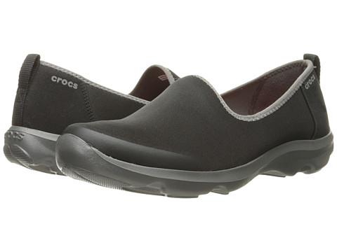 Crocs - Busy Day Stretch Skimmer (Black/Graphite) Women