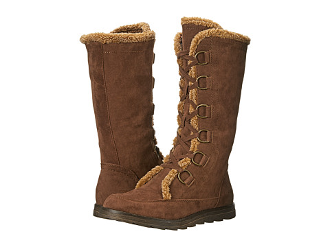 Rocket Dog - Milford (Chestnut Hush Fabric) Women's Lace-up Boots