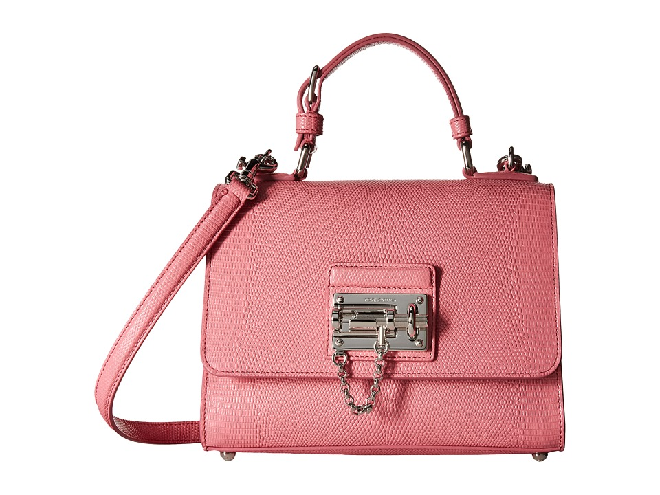 Dolce & Gabbana - Borsa A Mano Pelle St. (Rosa Intenso) Top-handle Handbags