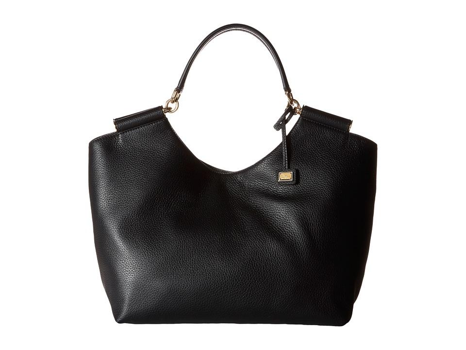 Dolce & Gabbana - Borsa A Mano Cervo (Nero) Hobo Handbags