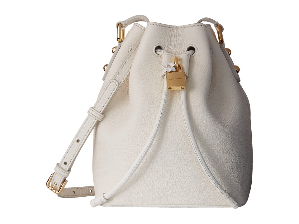 Dolce & Gabbana - Borsa A Spalla/Hobo (Bianco/Nero) Cross Body Handbags