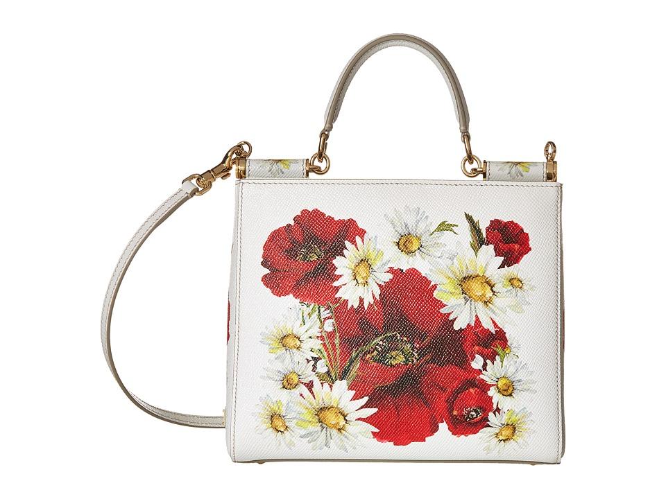 Dolce & Gabbana - Mini Bags St. Dauphine (Papaveri/Margh) Handbags