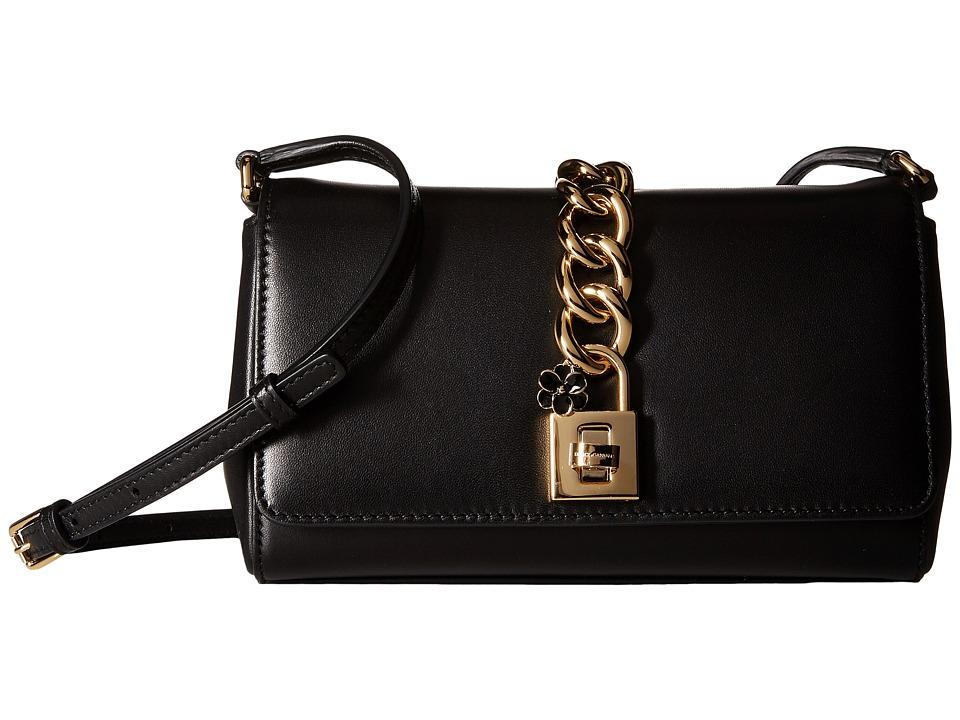 Dolce & Gabbana - Borsa A Tracolla Nappa (Nero) Handbags