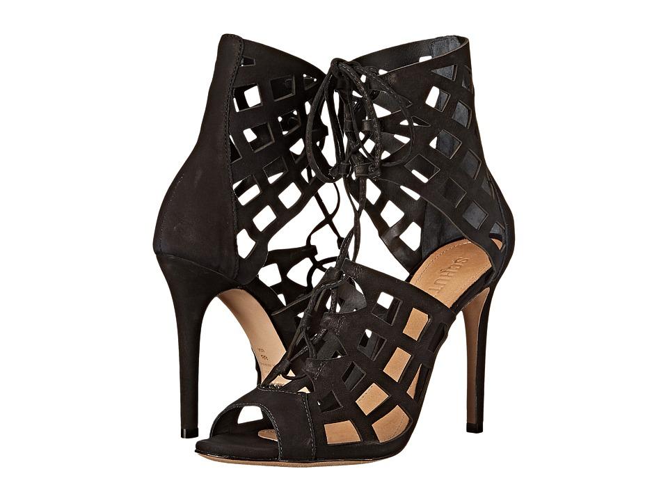 Schutz Blake (Black Nubuck) High Heels