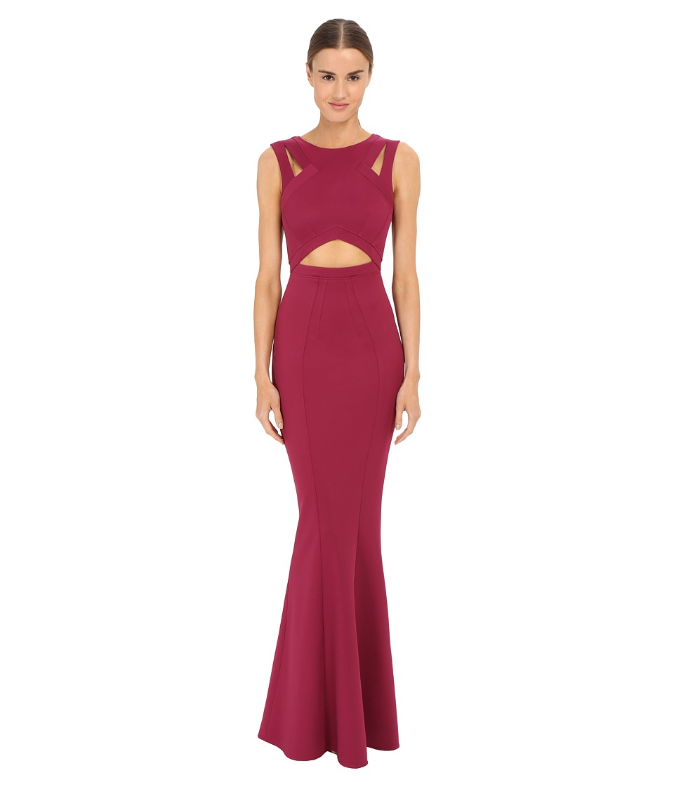 ZAC Zac Posen - Claire Gown (Raspberry) Women's Dress