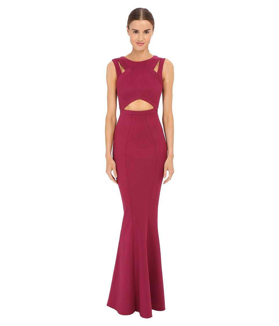ZAC Zac Posen - Claire Gown (Raspberry) Women's Dress