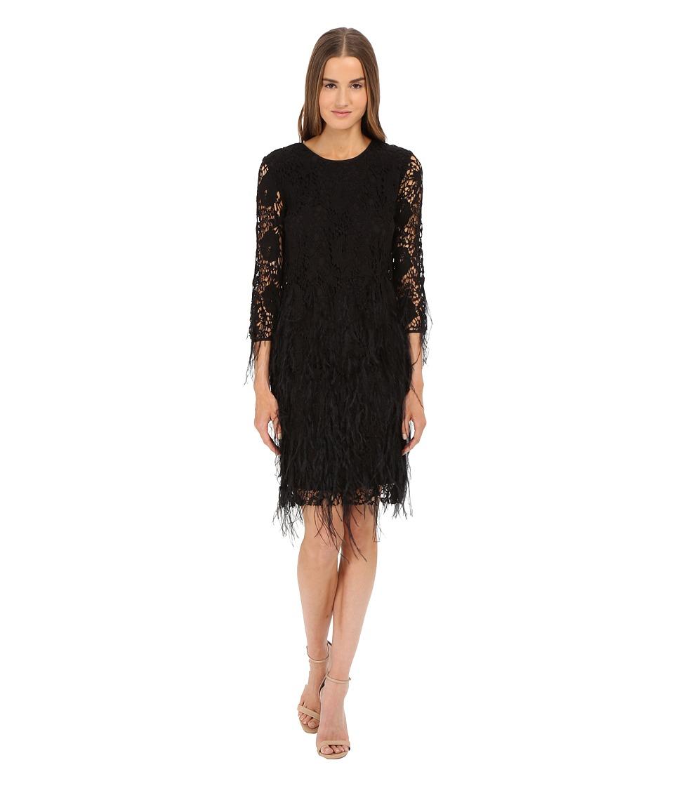 ZAC Zac Posen Waldorf Dress (Black) Women