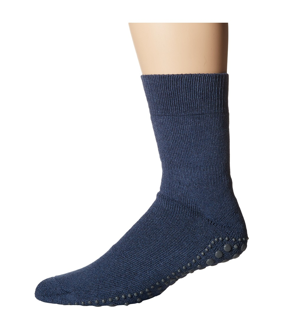 Falke - Homepads (Dark Blue) Men's Crew Cut Socks Shoes