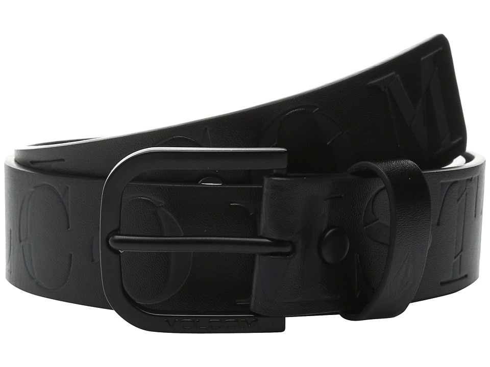 Volcom - Picto (Black) Men's Belts
