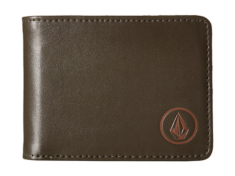 Volcom - Corps Wallet (Soil) Bill-fold Wallet