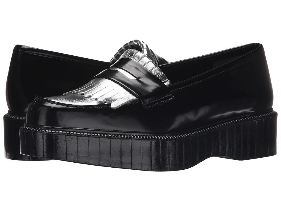 Robert Clergerie - Pastek (Black Spaz) Women's Slip-on Dress Shoes