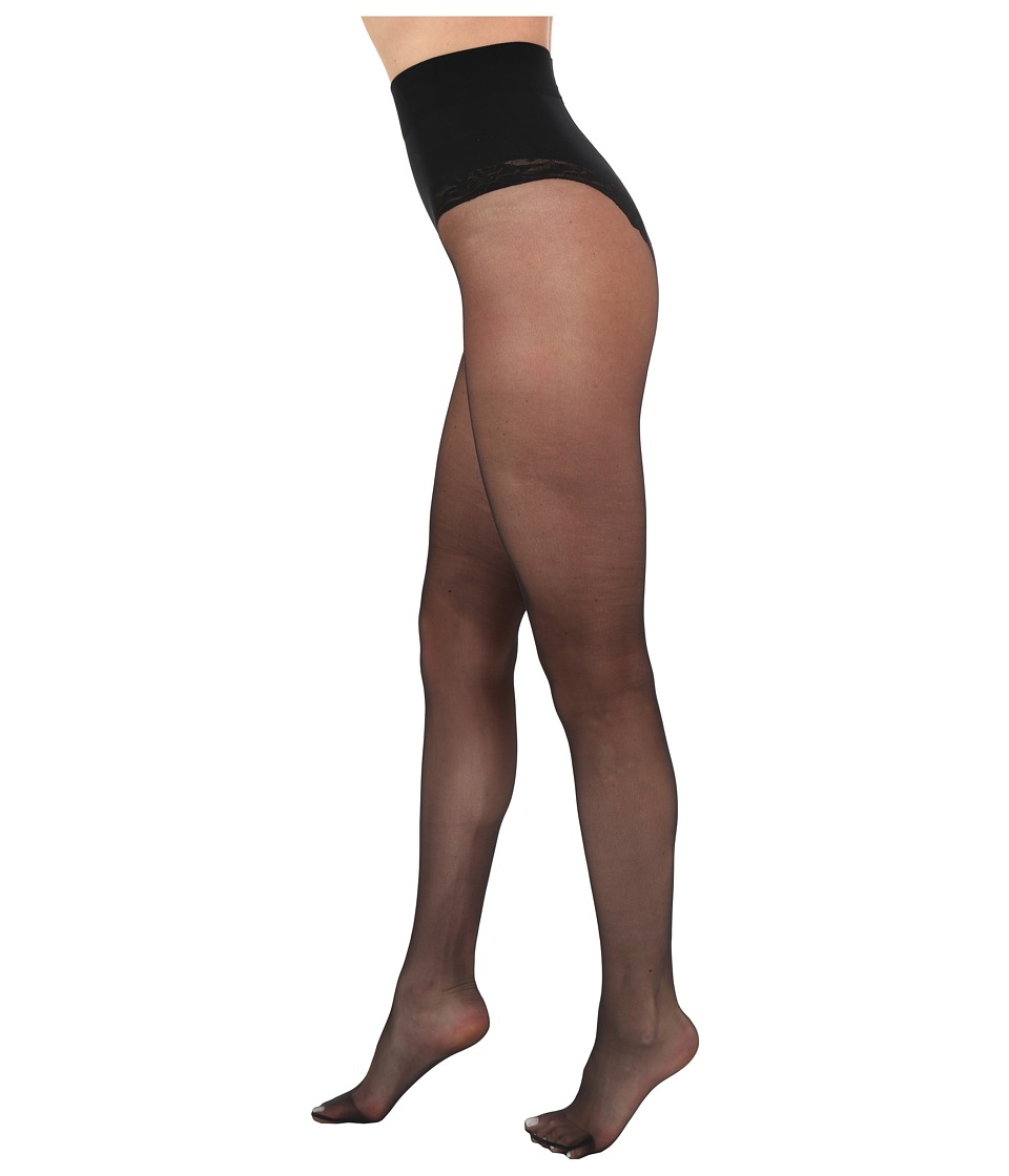 Falke - Shaping Top 20 Tights (Black) Hose