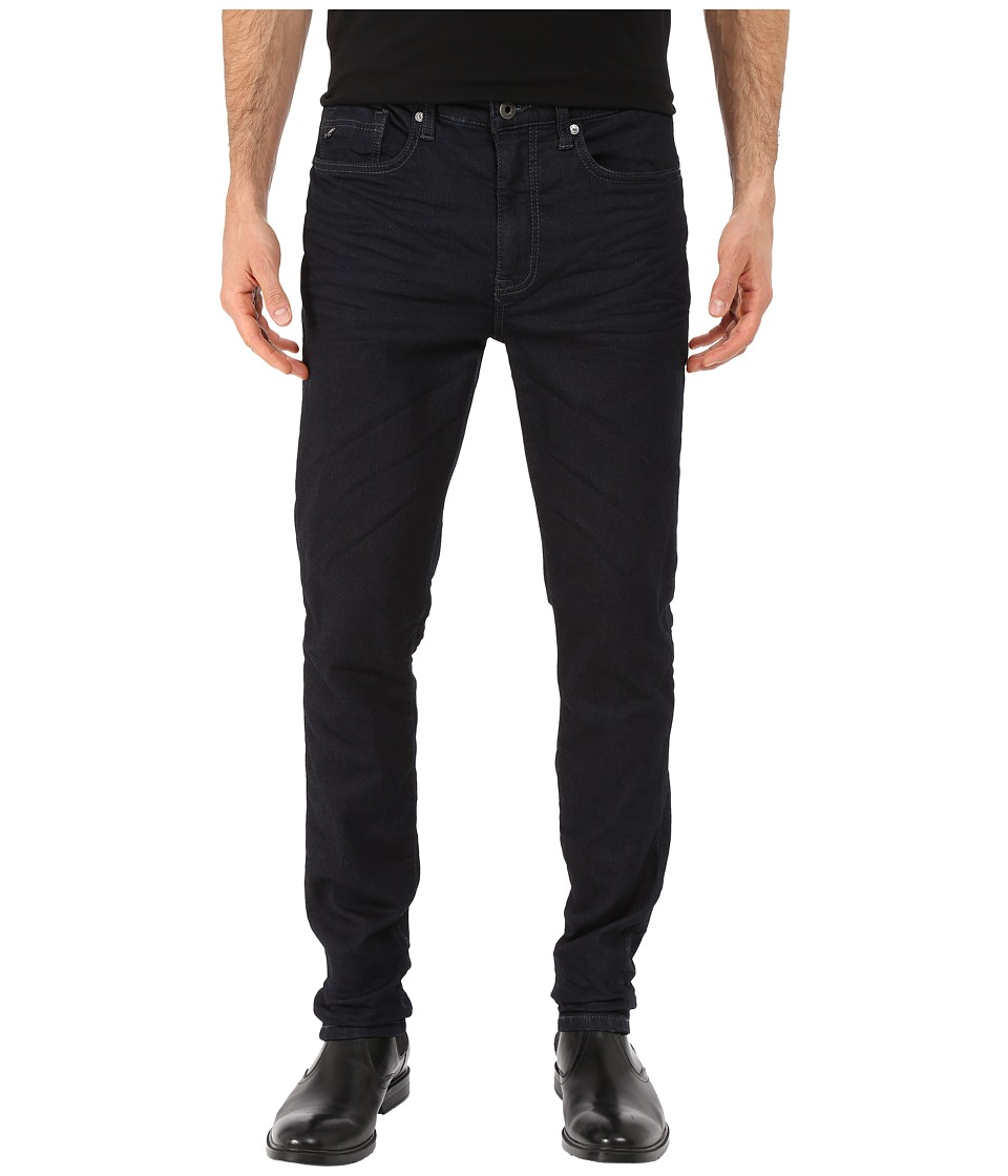 Kenneth Cole Sportswear - Five-Pocket Knit Jeans in Dark Indigo (Dark Indigo) Men's Jeans