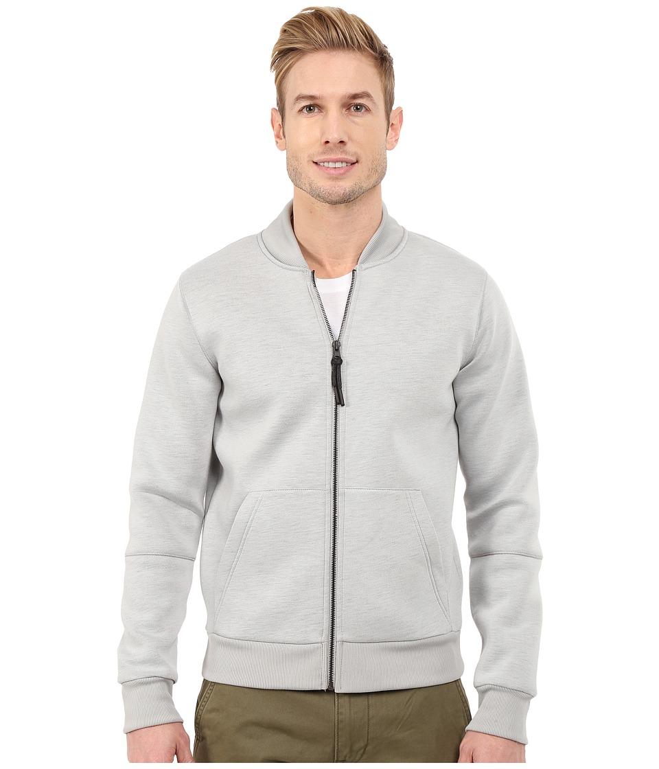 Kenneth Cole Sportswear - Bonded Bomber (Sterling) Men's Coat