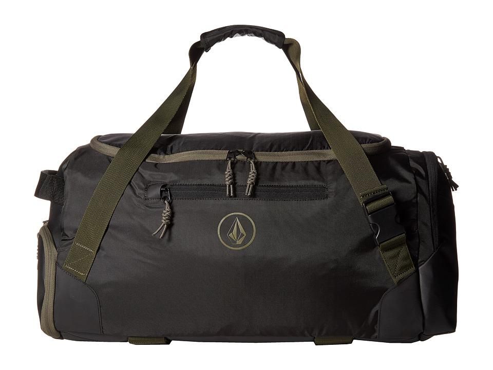 Volcom - Trekker Duffel (Black Combo) Duffel Bags