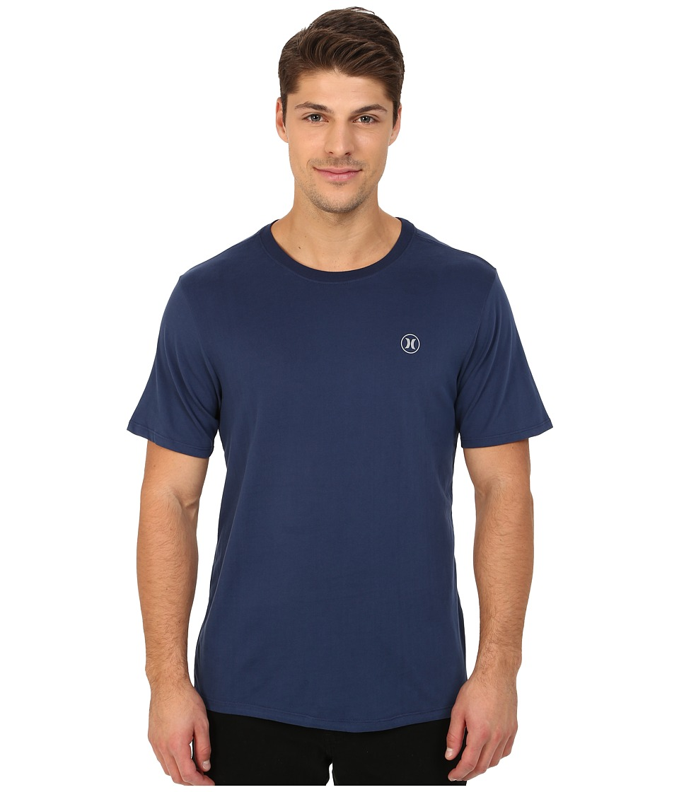 Hurley - Staple Dri-Fit Tee (Midnight Navy) Men