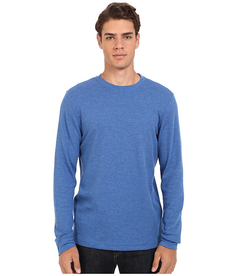 Hurley - Staple L/S Thermal (Heather Royal) Men's T Shirt