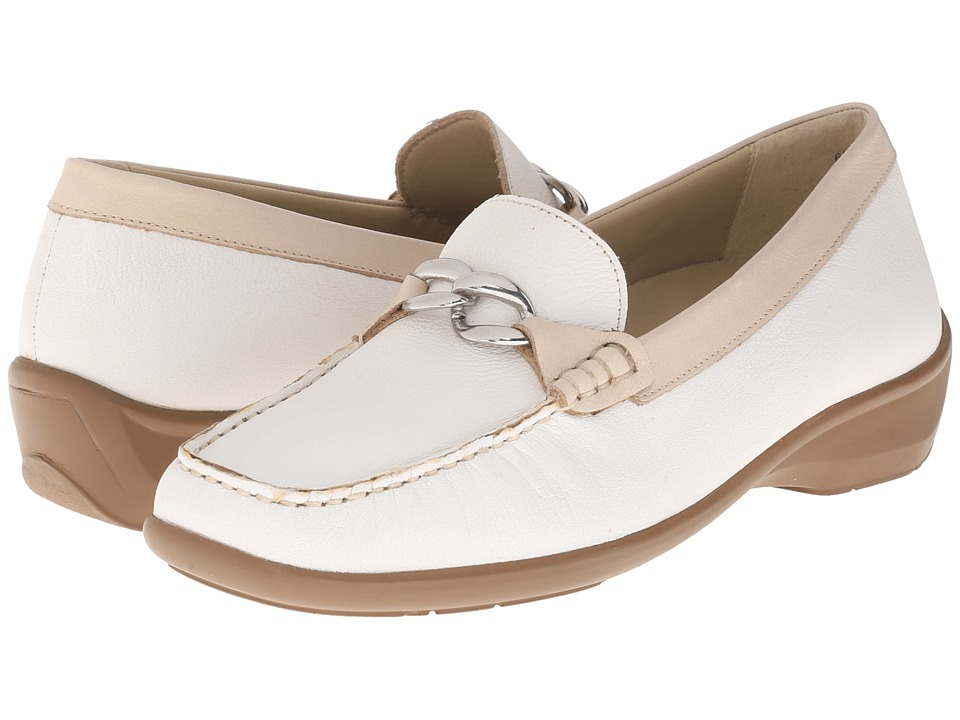 Naot Footwear Josephine (White Leather) Women