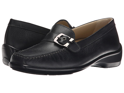 Naot Footwear - Maria (Black Leather) Women's Shoes