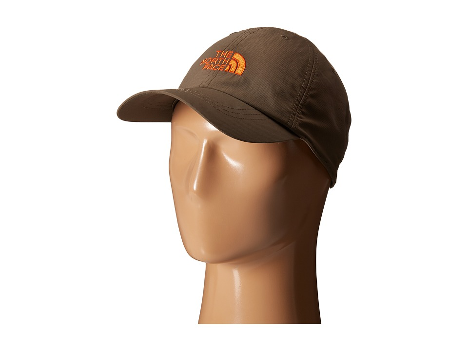 The North Face - Horizon Ball Cap (Weimaraner Brown/Papaya Orange) Baseball Caps
