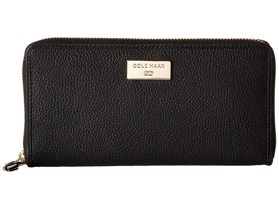 Cole Haan - Continental Zip (Black) Clutch Handbags