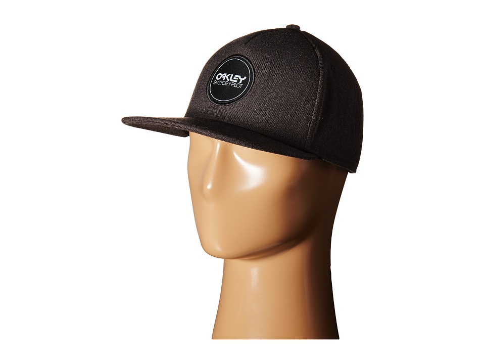 Oakley - Factory Pilot Novelty Snapback Hat (Jet Black) Caps