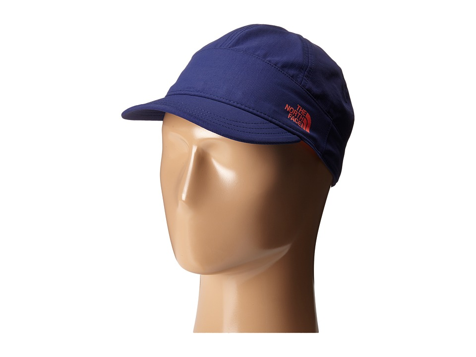 The North Face - Alamere Hiker Cap (Patriot Blue/Radiant Orange) Baseball Caps