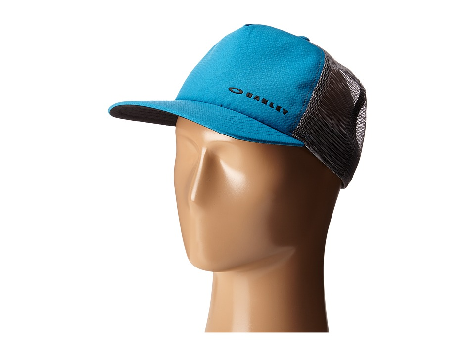 Oakley - K-38 Hydrofree Trucker Hat (Pacific Blue) Caps