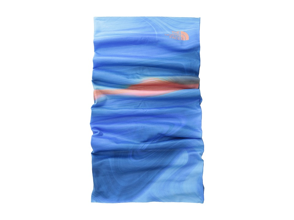 The North Face - Dipsea Cover It (Coastline Blue Water Swirl Print) Scarves