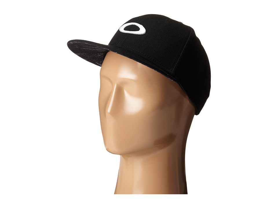 Oakley - Ellipse Print Hat (Jet Black) Caps