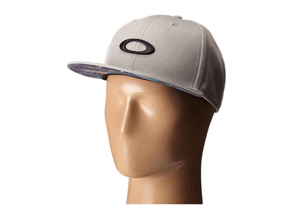 Oakley - Ellipse Print Hat (Stone Grey) Caps