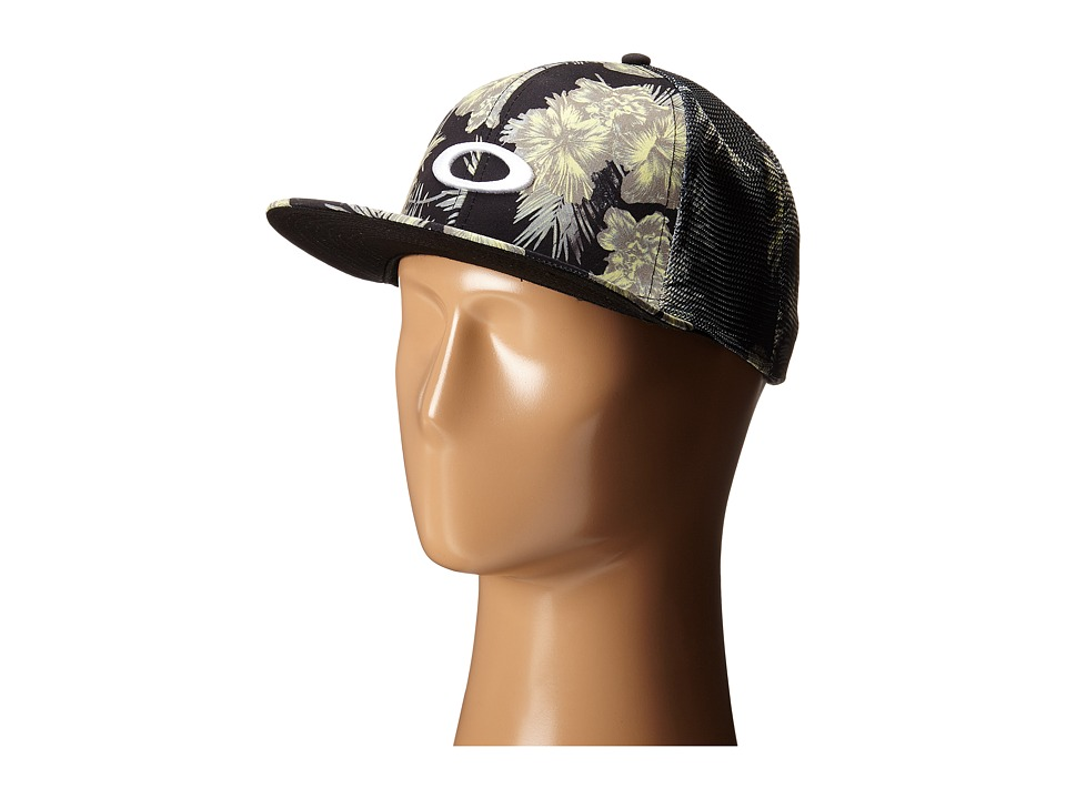 Oakley - Mesh Sublimated Hat (Jet Black) Caps