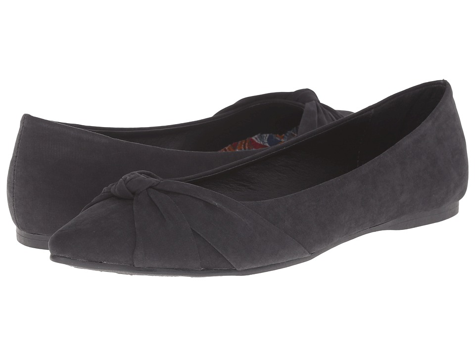 Rocket Dog - Jenelle (Black Plush) Women's Flat Shoes