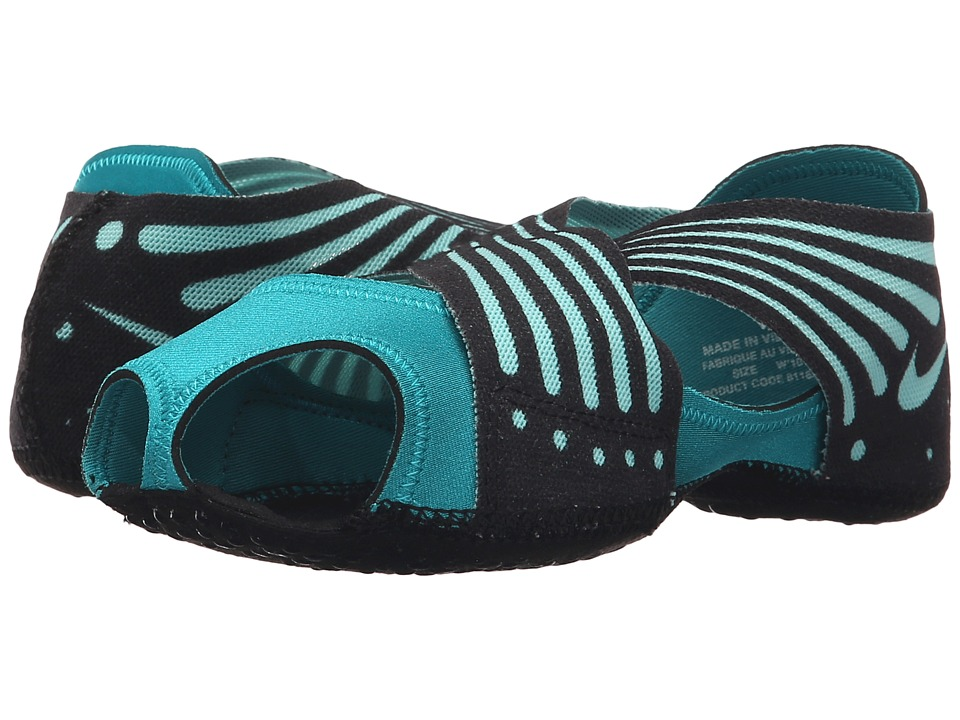 Nike - Studio Wrap 4 (Energy/Black/Hyper Turquoise) Women's Cross Training Shoes