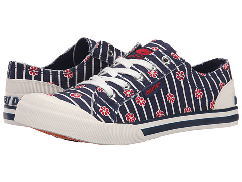 Rocket Dog - Jazzin (Navy Kyoto) Women's Lace up casual Shoes