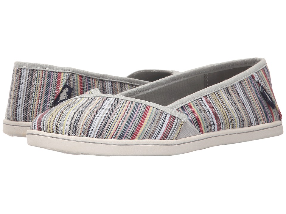 Rocket Dog - Hanes (Natural Harmony Stripe) Women's Flat Shoes