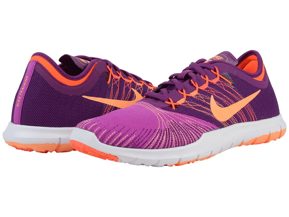 Nike - Flex Adapt TR (Hyper Violet/Bright Grape/Total Crimson/Peach Cream) Women's Cross Training Shoes