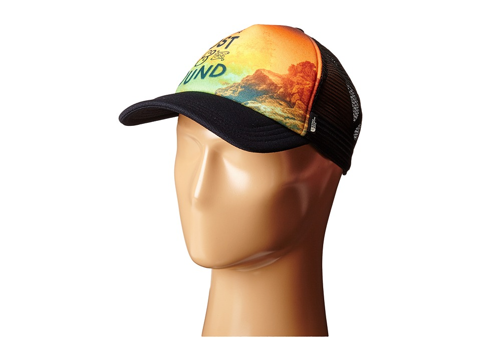 The North Face - Photobomb Hat (TNF Black Lost/Found Print) Baseball Caps
