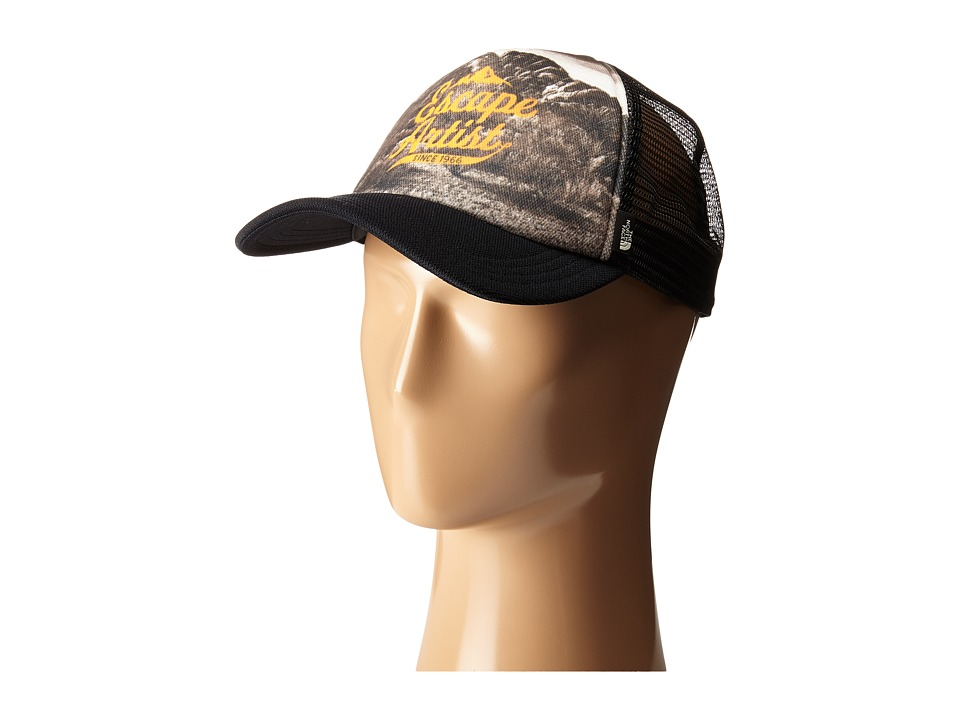 The North Face - Photobomb Hat (TNF Black Artist Print) Baseball Caps