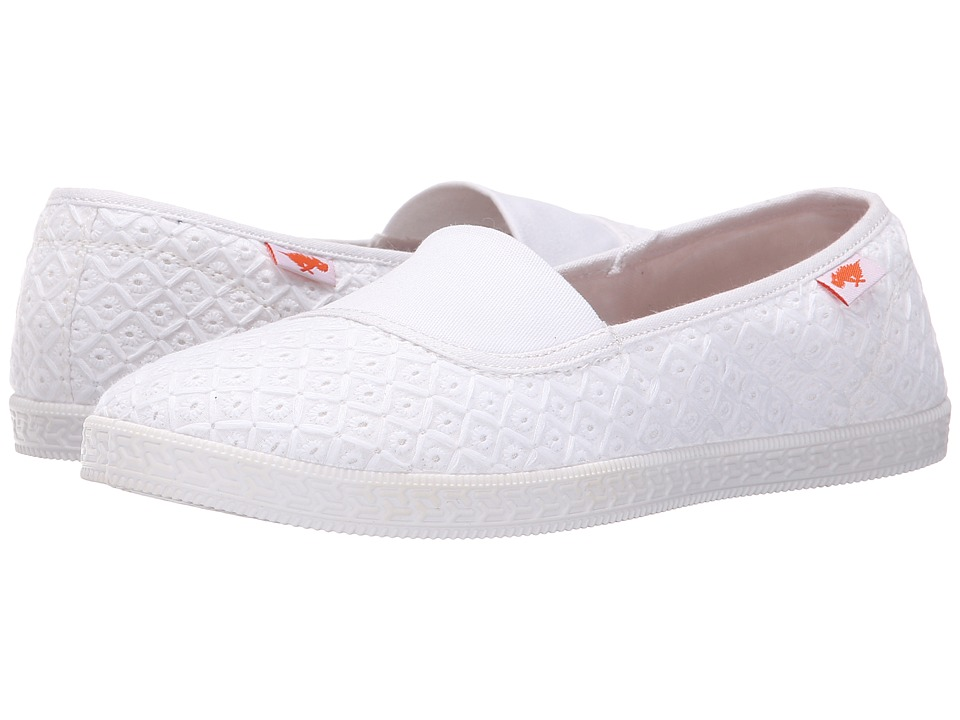 Rocket Dog - Parton (White Kingsley) Women's Flat Shoes